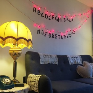 Anniversaire 80's // Ambiance Stranger Things