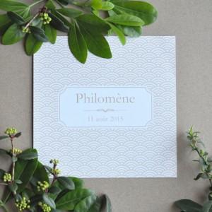 Faire-part Philomène