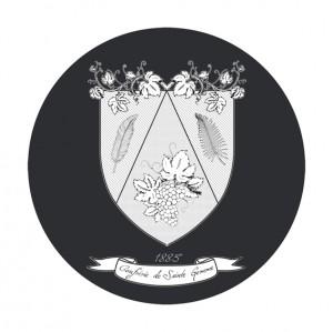 Logo de la confrérie de Sainte Gemme