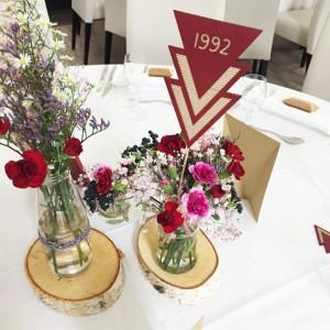 Nom de table mariage S&B